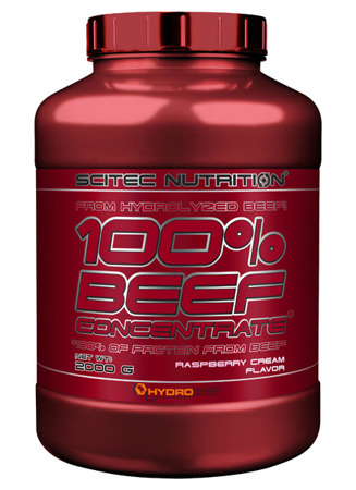 100% Beef Concentrate 2000g krem malinowy