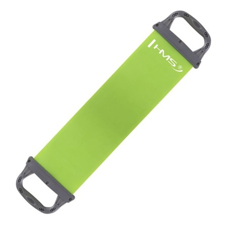 EKSPANDER PILATES HMS EP01 GREEN 0.5 x 150 x 550 MM