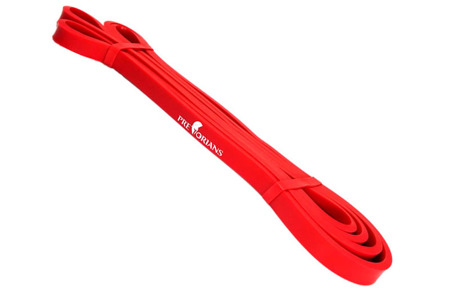 GUMA FITNESS TAŚMA 13 mm 7-11kg RED