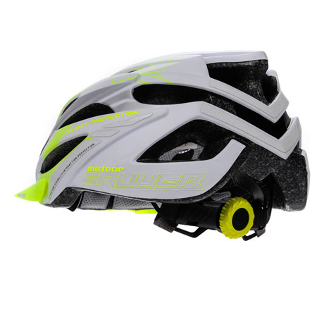 KASK ROWEROWY METEOR GRUVER M-L WHITE/GREEN