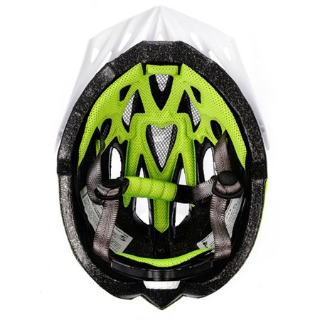 KASK ROWEROWY METEOR MARVEN M-L WHITE/NEON GREEN