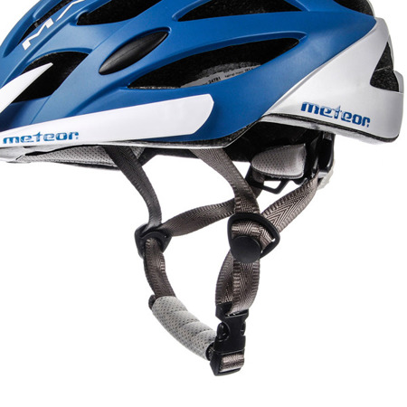 KASK ROWEROWY METEOR MARVEN ROZM. M-L BLUE/WHITE
