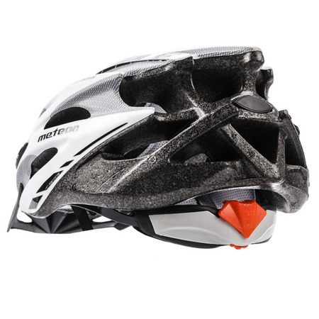 KASK ROWEROWY METEOR MV29 DRIZZLE M-L WHITE-GREY