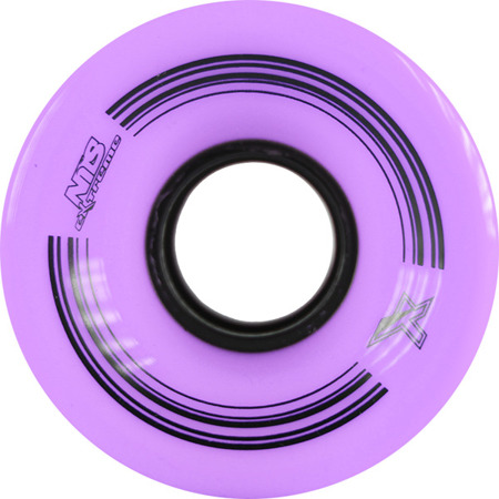 KÓŁKA DO DESKOROLKI NILS EXTREME KP-6045 60x45 MM (4 szt.) PURPLE