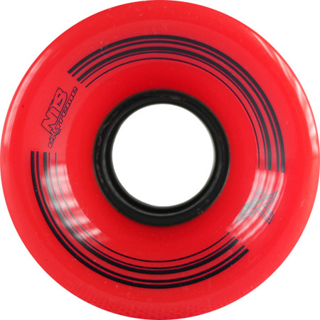 KÓŁKA DO DESKOROLKI NILS EXTREME KP-6045 60x45 MM (4 szt.) RED