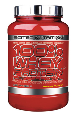 Whey Protein Professional 920g bananowy